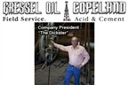 Gressel Oil Field Service, LLC dba ------ Copeland Acid & Cement